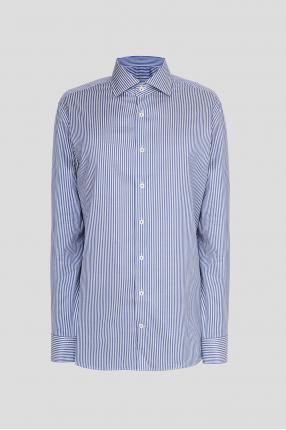 Чоловіча сорочка у смужку