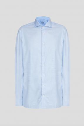 Чоловіча блакитна сорочка