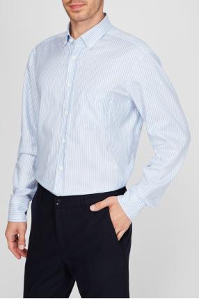 Чоловіча сорочка у смужку Button Down 1