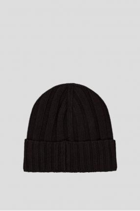 Мужская черная шапка 1