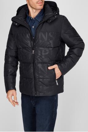 Мужская черная куртка 1