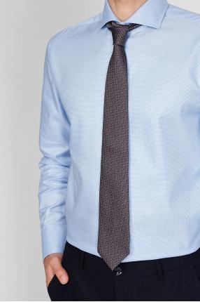 Чоловіча шовкова краватка у клітинку