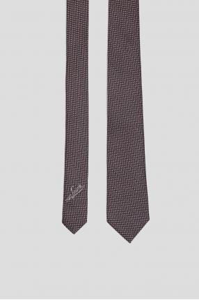 Чоловіча шовкова краватка у клітинку 1