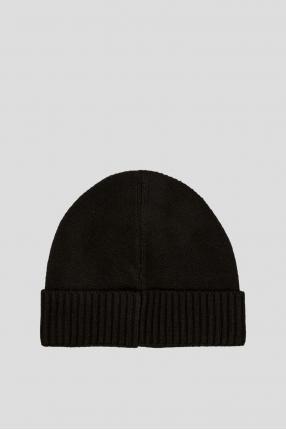 Чоловіча чорна шапка 1