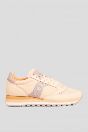 Женские персиковые кроссовки JAZZ TRIPLE