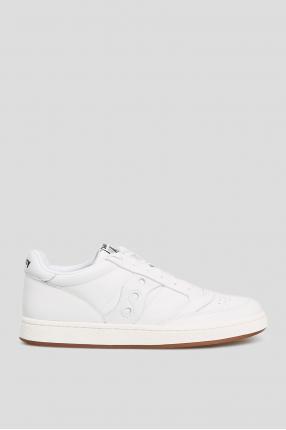 Белые кожаные сникеры JAZZ COURT