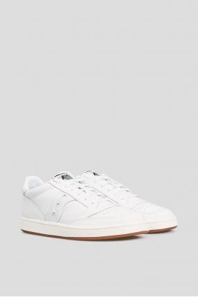 Белые кожаные сникеры JAZZ COURT 1