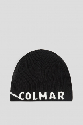 Чоловіча чорна шапка
