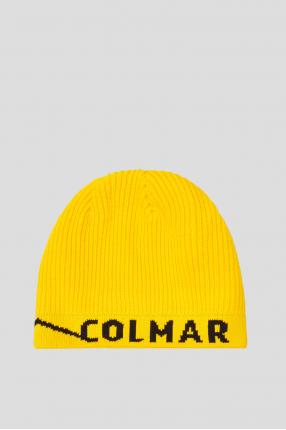 Чоловіча жовта шапка