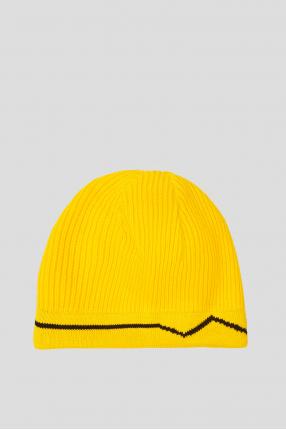 Чоловіча жовта шапка 1