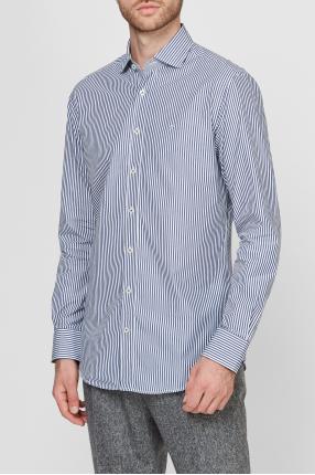 Чоловіча сорочка у смужку 1