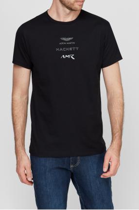 Чоловіча чорна футболка 1