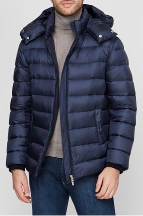 Мужская синяя куртка 1