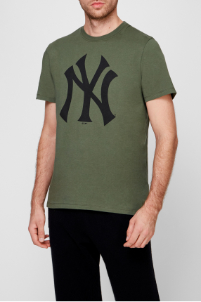 Чоловіча зелена футболка 1