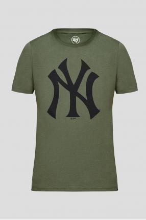 Чоловіча зелена футболка