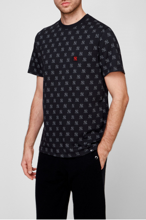 Мужская черная футболка 1