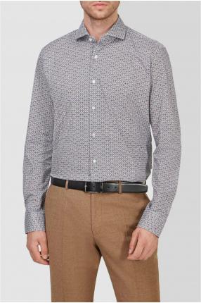 Мужская рубашка с узором 1