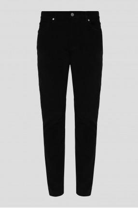Мужские черные вельветовые брюки