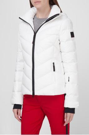 Женская белая лыжная куртка 1