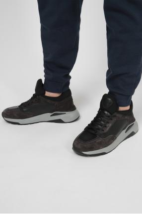Мужские кожаные кроссовки 1