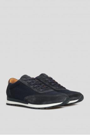 Мужские темно-синие кроссовки 1