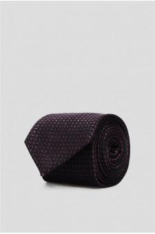 Мужской шелковый галстук с узором