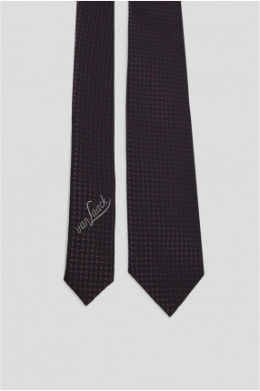 Мужской шелковый галстук с узором 1