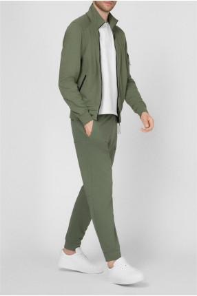 Мужской зеленый спортивный костюм 1