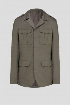 Мужская зеленая куртка