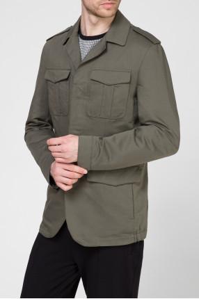 Мужская зеленая куртка 1