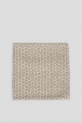 Мужской шарф с узором 1