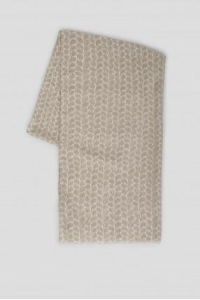 Мужской шарф с узором