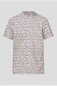 Чоловіча сорочка з принтом