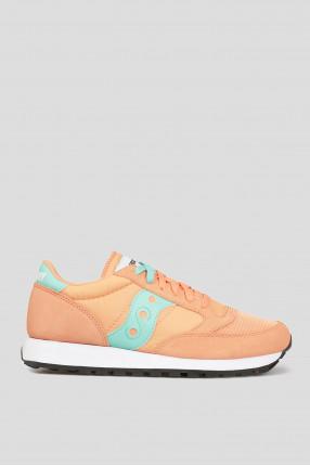 Женские оранжевые кроссовки