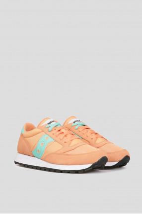 Женские оранжевые кроссовки 1