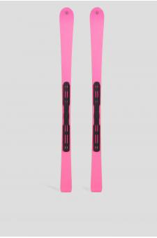 Женские розовые лыжи