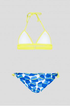 Женский синий купальник (лиф, трусики)     1