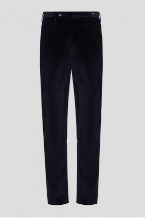 Мужские синие вельветовые брюки