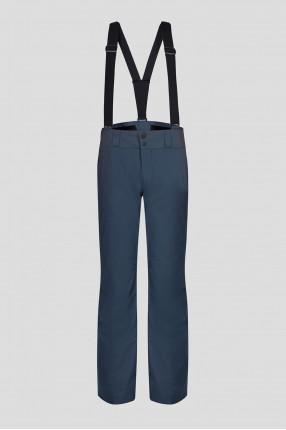 Мужские темно-серые лыжные брюки
