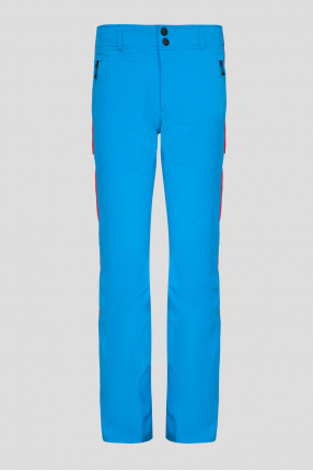 Мужские голубые лыжные брюки