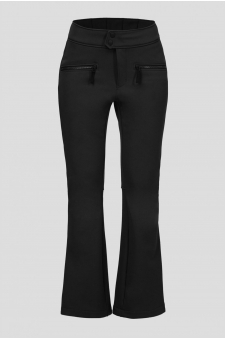Женские черные лыжные брюки