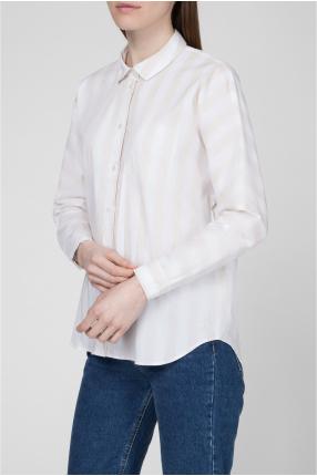 Женская рубашка в полоску 1