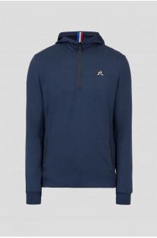 Мужская темно-синяя спортивная кофта