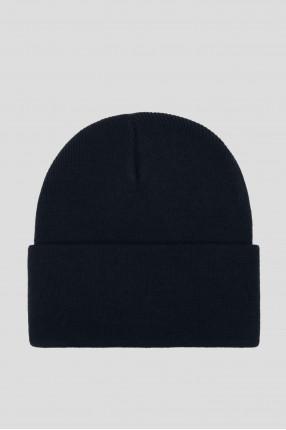 Темно-синяя шапка 1