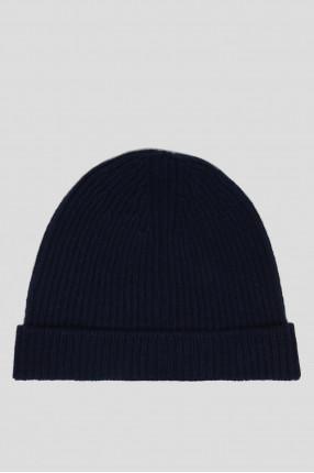 Темно-серая шерстяная шапка 1