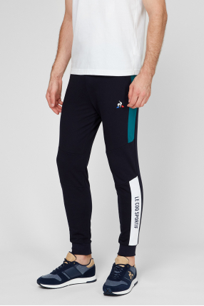 Мужские темно-синие спортивные брюки 1