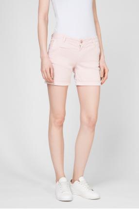 Женские розовые шорты 1