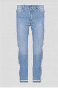 Женские голубые джинсы TROUSERS