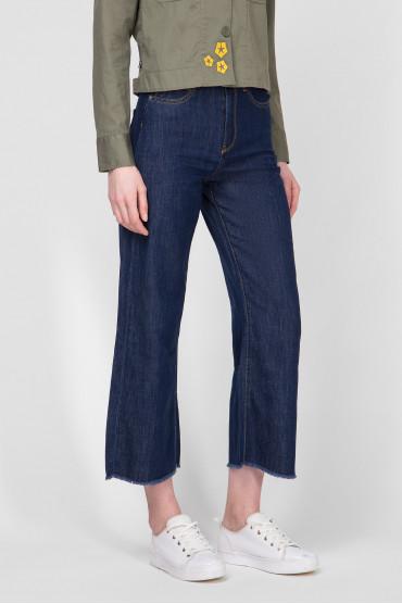 Женские темно-синие джинсы 2