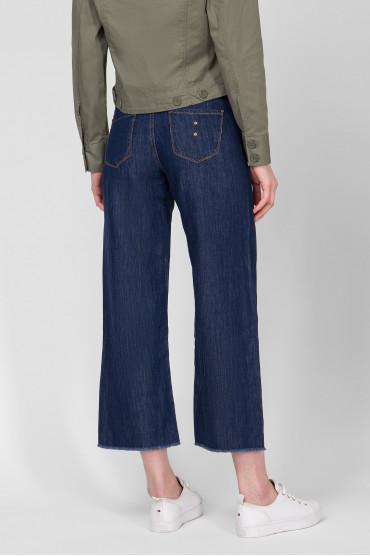 Женские темно-синие джинсы 3